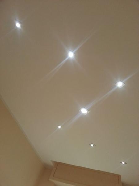 Illuminazione Led soffitto 2
